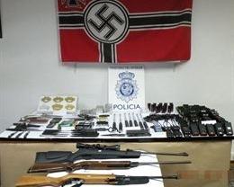 Detenido un menor por fabricar armas prohibidas en Toledo