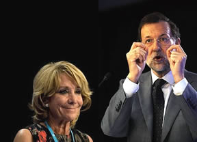 Aguirre reinicia la vieja guerra interna con Rajoy aprovechando el mal momento en las urnas para el PP