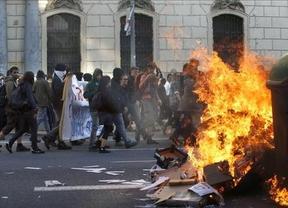 Los altercados en Barcelona durante el 1º de mayo acaba con 4 radicales detenidos
