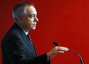 Pere Navarro admite su retroceso, pero dice que el