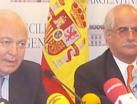 Moratinos recibe a Taiana en Madrid