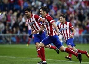 El nuevo 'Dúo Dinámico' del gol, Costa y Villa, lideran a un gran Atlético que se merienda a los leones (2-0)