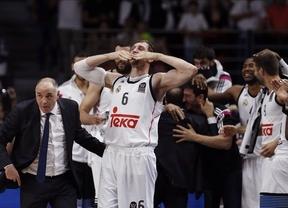 En baloncesto, sí: un enorme Real Madrid se venga de Olympiacos y conquista su 'novena' (78-59)