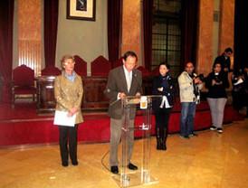 Remigio López, CAM y la Escuela de Arte y Superior de Diseño, distinguidos con el reconocimiento