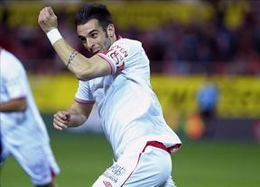 El Sevilla se cuela en 'semis' y Emery supera con nota su primer test en casa (4-0)