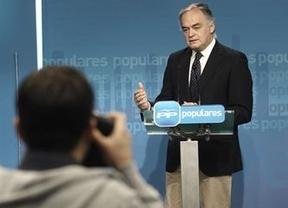 González Pons sigue negándolo todo: en el PP no hay sobresueldos y los 'papeles de Bárcenas' son falsos