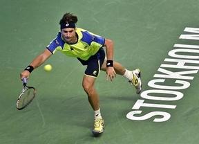 El irregular David Ferrer da la de arena y cae derrotado en la finalísima de Estocolmo ante Dimitrov