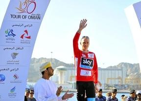 Quien da primero... Froome derrota a Contador, que fue segundo, en el Tour de Omán