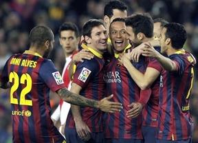 El 'Superbarça' fulmina al Rayo Vallecano endosándole un set para meterle miedo al Milan ante la gran cita europea (6-0)