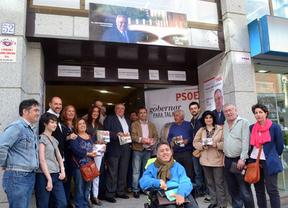 Javier Corrochano (PSOE) presenta la oficina del candidato en Talavera de la Reina