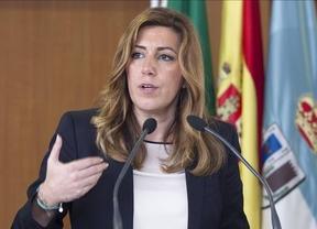 Susana Díaz: el encuentro de Zapatero, Bono y Page con Podemos no fue 'oportuno ni conveniente'