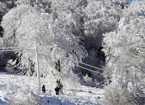 Este martes, atención a las nevadas intensas en dos comarcas de Cuenca