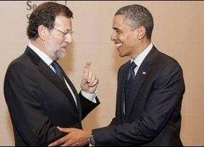 Rajoy tuvo su pre-cumbre con Obama... en el gimnasio del hotel en Sudáfrica