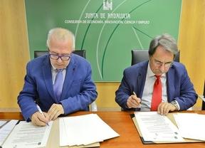 Casi 22.000 jóvenes y 1.342 empresas llevan inscritos en el programa de prácticas de Junta de Andalucía y el Banco Santander