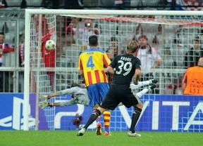 El Valencia se estrella contra el muro del Bayern (2-1)
