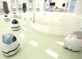 Robots utilizados en el estudio de Nissan sobre movilidad
