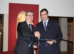 Suscrito el convenio que permitirá a la Diputación de Cuenca gestionar Segóbriga