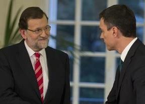 Pedro Sánchez le deja claro a Rajoy que no está a favor del 'pacto de la lista más votada'