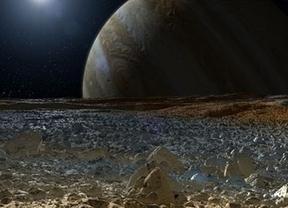 Y en el subsuelo de Júpiter... ¡había agua!