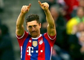 Robert Lewandowski se recupera y será la gran amenaza ofensiva de Guardiola y su Bayern ante el Barça