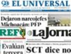 Informaciones contrapuestas en La Jornada y Reforma