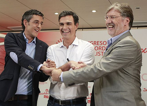 Los candidatos se comprometen a mantener las primarias abiertas en noviembre, aunque sólo Pérez-Tapias confirma que no se presentaría