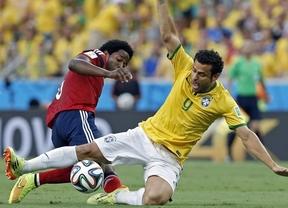 Brasil sigue jugando de auténtica pena... pero también sigue ganando: 2-1 a Colombia y a semifinales de 'su' Mundial