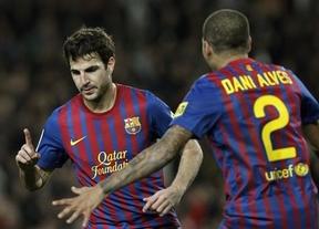 Cèsc y Messi con fiebre, suficientes para cerrar la eliminatoria frente al Osasuna (4-0)
