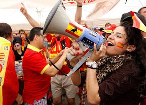Eurocopa: la afición española llegan a Gdansk