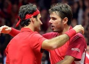 Federer y Wawrinka pegan la espantada en la defensa de la Davis y no jugarán contra Bélgica