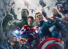 Los superhéroes de los 'Vengadores. La era de Ultrón' dan un golpe de efecto en la taquilla española