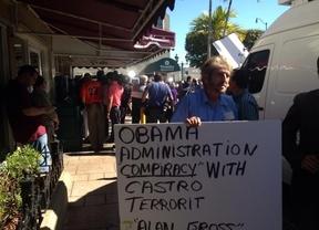 Exilio cubano en Miami critica medidas de Obama