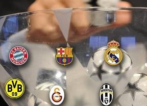 El sorteo de la Champions League de este viernes podría enfrentar al Real Madrid y al Barcelona