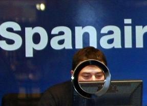 Spanair dejará en tierra hasta el viernes a más de 83.000 pasajeros