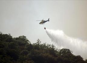 El incendio de Cabañeros ha afectado a 600 hectáreas