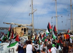 Israel aborda el 'Estelle' antes de que la 'Flotilla de la libertad' llegue a Gaza