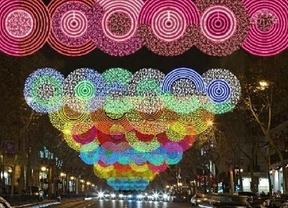 Madrid se ilumina para celebrar la Navidad
