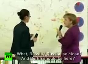 El mayor patinazo de Merkel: la canciller alemana no supo situar a Berlín en el mapa