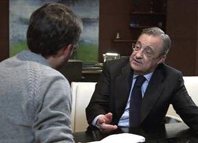 Florentino Pérez confiesa a Jordi Évole que tiene sucesor: Marcelino Fernández Verdes se pondrá al frente de ACS... algún día