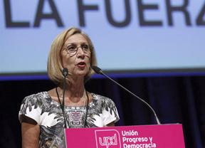 Rosa Díez, reelegida con más apoyo que hace cuatro años