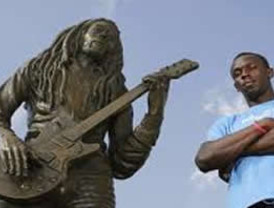 Usain Bolt lucirá la imagen de Bob Marley en Londres 2012