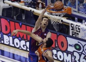 El Barcelona gana al Valencia y deja la eliminatoria 2-1 a su favor en la Liga Endesa
