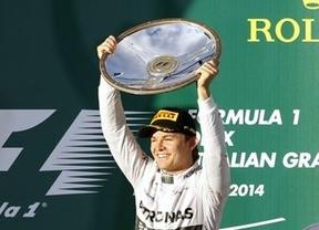Rosberg y Hamilton le dan un nuevo doblete a Mercedes