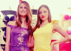 Los Ángeles Behati Prinsloo y Miranda Kerr presentan la nueva colección Victoria's Secret