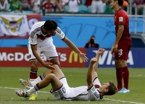 Alemania presenta su candidatura al título ante un impotente Cristiano Ronaldo (4-0)