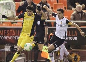 Copa del Rey: Postiga hace justicia en el último suspiro a un Valencia que fue mejor que el Atlético (1-1)
