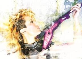 El violín mágico de la polifacética Judith Mateo nos regala rock a tope con su 'Celebration days'