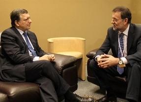 Rajoy adelantó a Barroso el mismo mensaje que a Merkel y Sarkozy: