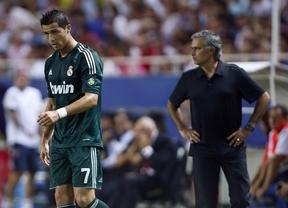 Mou lo tiene claro: Ronaldo no se moverá de un