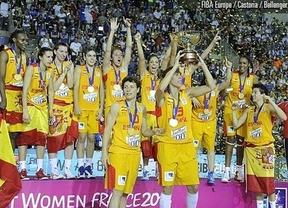 Las chicas son guerreras y de oro espa a campeona del - Las chicas de oro espana ...